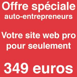 création de site auto entrepreneur